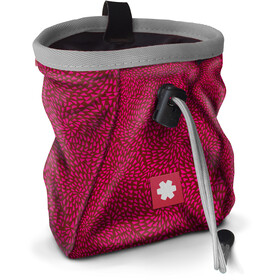 Ocun Lucky Chalk Bag with Belt, drops red